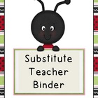 Ladybug Substitute Binder