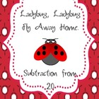 Ladybug Subtraction from 20