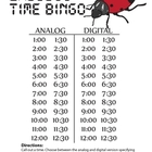 Ladybug Time Bingo - HALF HOUR Version