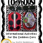 Ladybugs! Insect Life Cycle Informational Activities for t