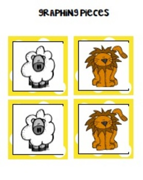 Lamb and Lion Calendar and Graphing Pieces