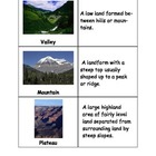 Landform Matching Game