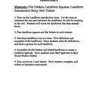 Landform mini-unit: Ohio Model Curriculum