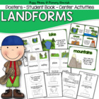 Landforms: Anchor Charts &amp; Student Book