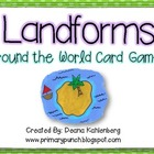 Landforms {Around the World Card Game}