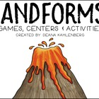 Landforms {Games, Centers and Activities}