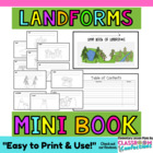 Landforms Mini Book