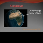 Landforms Power Point