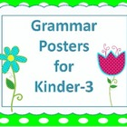 Language {9} Charts  Kinder-3rd!