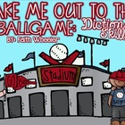 Language Arts - Baseball Dictionary Skills Activities