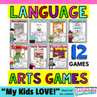 Language Arts Center Games - Grades 3-5