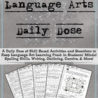 Language Arts Daily Dose Grade 6 {Weeks 1-4}