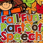 Language Arts - Fall Fun: Parts of Speech