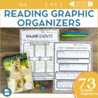 Language Arts Graphic Organizers: Close Reads, Guided Read
