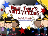 Language Arts & Math - New Years Activities