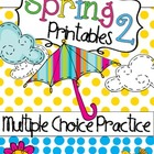 Language Arts &amp; Math - Spring Printables 2