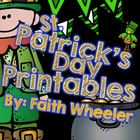 Language Arts & Math - St. Patrick's Day Printables