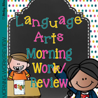 Language Arts Morning Work/Review 1
