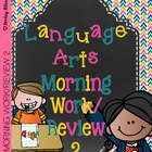 Language Arts Morning Work/Review 2