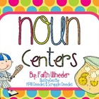 Language Arts - Noun Centers
