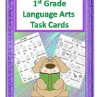 Language Arts Task Cards for 1st Grade