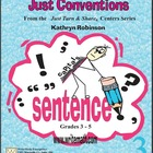 Grammar Instruction and Worksheets for 3rd, 4th, or 5th Gr
