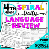 Daily Language Review 4th Grade