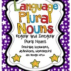 Language Regular & Irregular Plural Nouns: Printables with CCSS!!