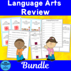 Language Review Scavenger Hunt and Scoot Game