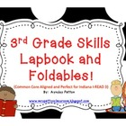Lapbook of 3rd Grade Skills!!  {Common Core Aligned-Perfec