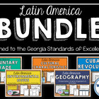 Latin America BUNDLE: Geography, Environmental Issues, Azt