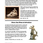 Latin Story: Apollo and Diana (Latin I, Imperfect Tense)