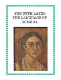 Latin: The Language of Rome Fun Worksheet #4