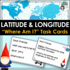 Latitude &amp; Longitude Task Cards