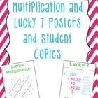 Lattice and Lucky 7 Math Posters