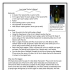 Lava Lamp Science Experiment Lab