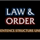 Law &amp; Order: Sentence Structure Unit - Fun Test-Prep Review Game