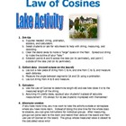 Law of Cosines Lake Activity
