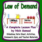 Law of Demand - Activities and Lesson Plan
