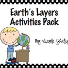 Layers of the Earth Activity Pack