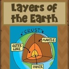 "Layers of the Earth ""Words Up"" Activity"