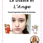 Le Diable et L'Ange! French Imperative tense Posters and A