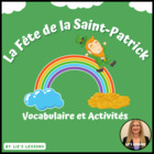 Le Jour de St.Patrick! French St.Patrick's Day Vocabulary