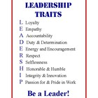 Leadership Traits Poster