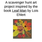 Leaf Art - Scavenger Hunt