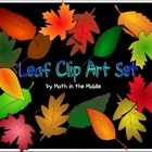 Leaf Clip Art Set - free for personal or commercial use!