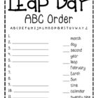 Leap Day ABC