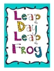 Leap Day Leap Frog A Fraction game of Comparisons