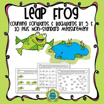 Leap Frog Mat - Counting by 1s, 5s, and 10s