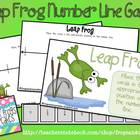 Leap Frog Number Line Game
